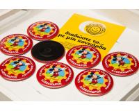 Κονκάρδες παιδικού πάρτυ Mickey μαγνήτης