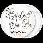Kονκάρδα Bride to Be ring vintage λευκή