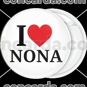 Κονκάρδα βάπτισης Ι Love Nona
