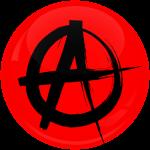 Κονκάρδα αναρχία κόκκινη