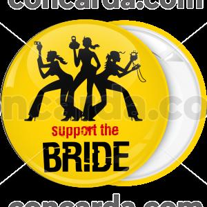 Kονκάρδα support the bride κίτρινη
