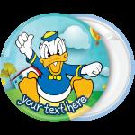 Κονκάρδα βάπτισης Donald Duck angry