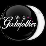 Κονκάρδα The Godmother queen μαύρη