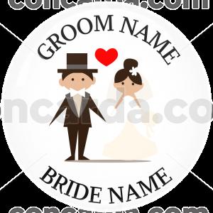 Κονκάρδα γάμου ονόματα ζευγαριού look