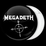 Metal Κονκάρδα Megadeth