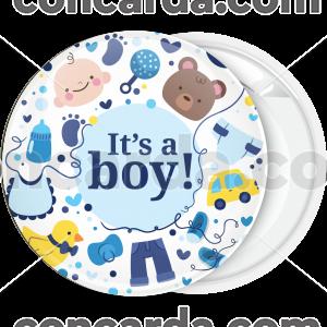 Κονκάρδα γέννησης it is a boy baby toys