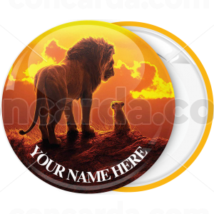Κονκάρδα βασιλιάς των λιονταριών ηλιοβασίλεμα