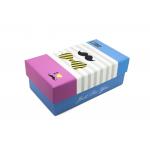 Συσκευασία κονκάρδα ορθογώνιο κουτι mustache μπλε ροζ
