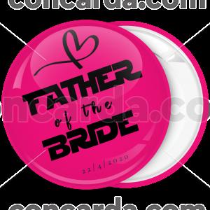 Κονκάρδα father of the bride collection flat ροζ