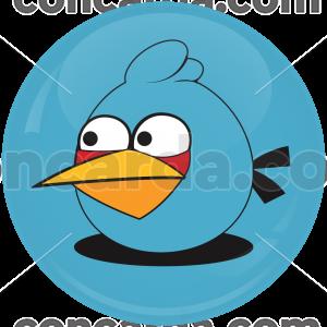 Κονκάρδα Blue angry bird