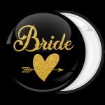 Kονκάρδα Bride Gold Glitter