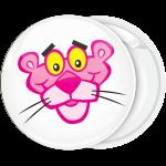 Κονκάρδα κεφάλι Ροζ Πανθηρας λευκή