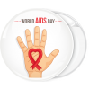 Κονκάρδα world Aids Day hand