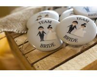 Κονκάρδες γάμου Team Bride
