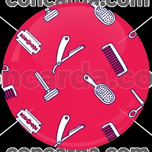 Κονκάρδα κομμώσεις ροζ