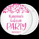 Kονκάρδα Bachelorette party Team ροζ πουά