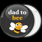 Κονκάρδα dad to bee μαύρη