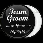 Κονκάρδα Team Groom καρδιά