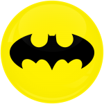 Κονκάρδα Batman logo