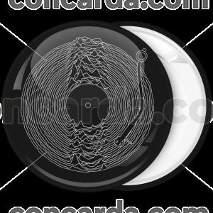 Κονκάρδα Joy Division Unknown Pleasures disk