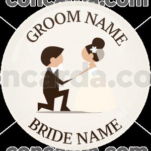 Κονκάρδα γάμου ονόματα Proposal