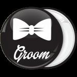 Κονκάρδα γάμου Groom bow tie