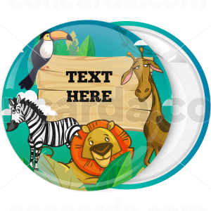 Κονκάρδα πάρτυ ζώα της ζούγκλας mystery