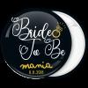 Kονκάρδα Bride to Be ring vintage μαύρη