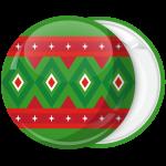 Κονκάρδα Χριστουγεννιάτικη μπάλα γιορτινά σχέδια