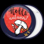 Κονκάρδα hello autumn μανιτάρι