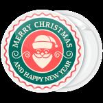 Vintage Χριστουγεννιάτικη Κονκάρδα Merry Christmas